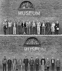 <p>Omzien - beeldhouwkunst - in het Dordrechts Museum</p>