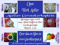 Open Werk Atelier in Atelier Grotekerksplein